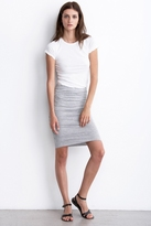 Kerstie Shirred Pencil Skirt