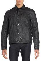 Cult of Individuality Coated Moto Jacket
