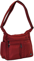 Lug Cardinal Red Double Dutch Crossbody Bag