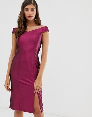 Closet London Closet off the shoulder dress