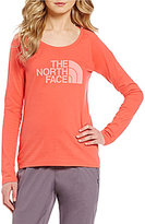 The North Face Long Sleeve Half Dome Scoop Neck Tee
