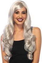 Leg Avenue Gray Long Wavy Wig