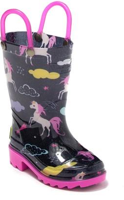 Western Chief Unicorn Play Rain Boot (Toddler & Little Kid)
