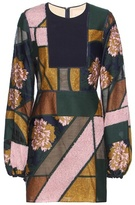 Roksanda Patchwork jacquard dress
