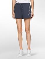 Calvin Klein Drawstring Logo Sweat Shorts