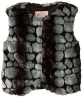 Appaman Faux Fur Vest (Toddler/Kid) - Pebble Fur - 5