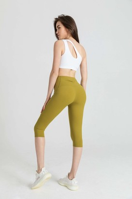 J.ING Citrus Lime Crop Legging