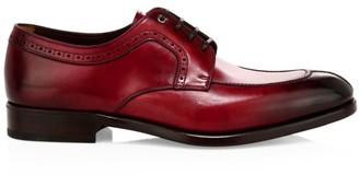 Salvatore Ferragamo Tullo Lace-Up Leather Dress Shoes