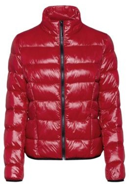 HUGO BOSS Packable quilted jacket with recycled fibres