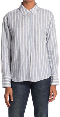 Frame Tie Up Button Front Shirt