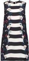 Markus Lupfer Cory printed silk mini dress