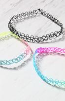 La Hearts Tie Dye Choker Pack