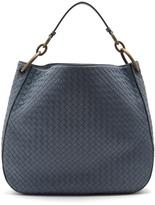 Bottega Veneta Loop large intrecciato leather shoulder bag
