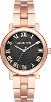MICHAEL Michael Kors 38mm Norie Rose Golden Bracelet Watch, Pink
