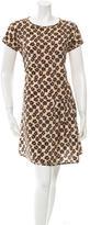 RED Valentino Leopard Print Mini Dress