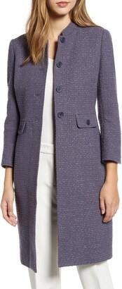 Anne Klein Audrey Tweed Topcoat