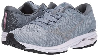 Mizuno Wave Rider 23 WaveKnittm (Blue Fog/Vapor Blue) Women's Shoes