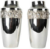 One Kings Lane Vintage English Silver-Plated Vases
