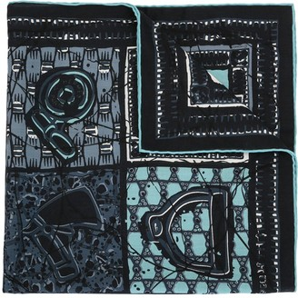 Hermes 1965 pre-owned Le Boubou H scarf