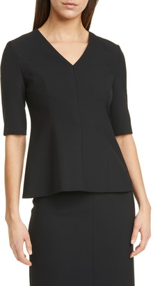 BOSS Ipeplum Peplum Top