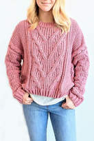 J.o.a. Chunky Cable Sweater