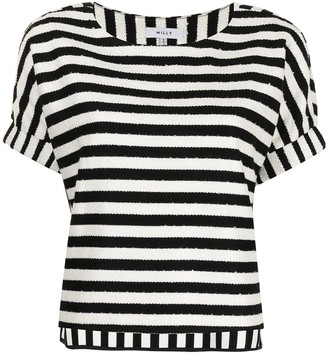 Milly Julie striped cotton T-shirt