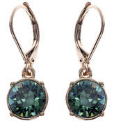 Gloria Vanderbilt Gold-Tone Erinite Crystal Drop Earrings