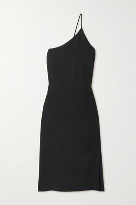 Acne Studios One-shoulder Crepe Dress - Black
