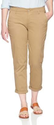 Lee Indigo Indigo Women's Slim Cropped Chino with Comfort Waistband