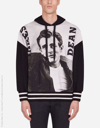 Dolce & Gabbana Hoodie With James Dean Print