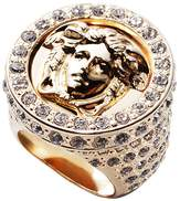 Versace All Over Crystal Ring