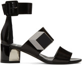 Pierre Hardy Black De D'Or Illusion Sandals