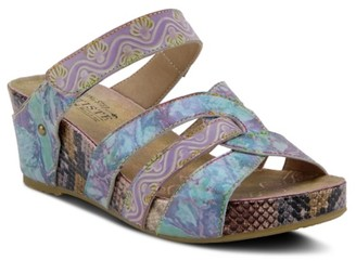 L'artiste By Spring Step Yorini Wedge Sandal