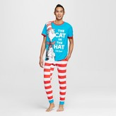 Dr. Seuss Men's Tee & Jogger Pajamas Set - Blue