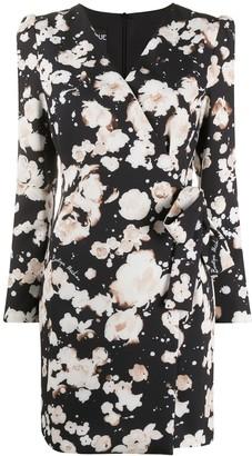 Boutique Moschino Floral Wrap Dress
