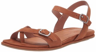 Gentle Souls by Kenneth Cole Women's Lark Strappy Flat Sandal