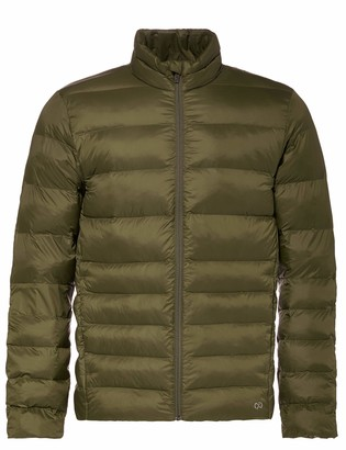 CARE OF by PUMA Men's Funnel Neck Puffer Jacket