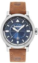 Timberland Driscoll Leather Strap Watch, 46mm