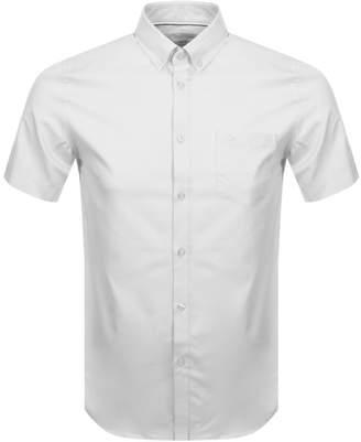 Lacoste Short Sleeved Shirt White