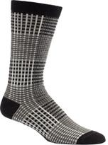 Ozone Men's Prince Of Wales Crew Socks (2 Pairs)