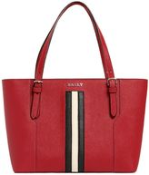 Bally Supra Saffiano Leather Tote Bag