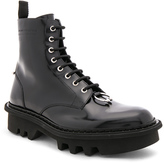 Neil Barrett Leather Piercing Boots in Black.