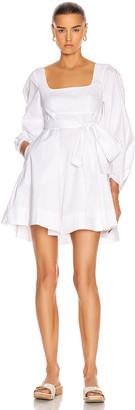 STAUD Isabella Dress in White | FWRD