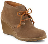Sperry Stella Prow Suede Wedge Ankle Boots