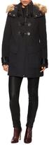 Paxton Wool Faux Fur Coat