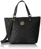 Tommy Hilfiger Isla Quilted Nylon Shopper