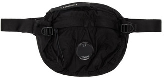 C.P. Company Black Nylon Waist Bag
