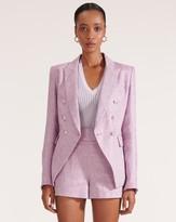 Veronica Beard Miller Linen Dickey Jacket