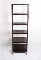 5 Tier Ladder Style Bookshelf Finish: Brown