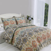 Asstd National Brand Genoa Hand-Pieced Reversible 3-pc. Quilt Set